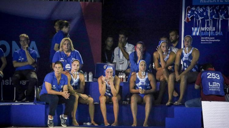 12866cf0de34 Ασημένια τα κορίτσια της Εθνικής Πόλο .Ολλανδία -Ελλάδα  6-4 - ilamia